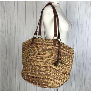 LUCKY BRAND  BUCKET NATURAL Tote Shopper Bag